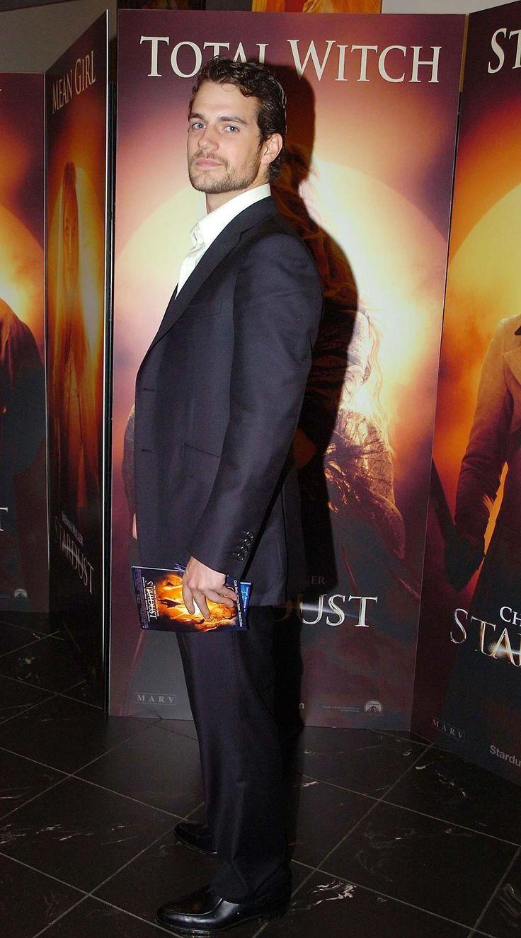 "bryonyashley: ""Henry Cavill at Ireland film premiere of 'Stardust' Dublin, Ireland - 09.10.07. """
