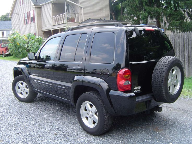 Make:  Jeep Model:  Liberty Year:  2002 Body Style:  SUV Exterior Color: Black Interior Color: Gray Doors: Four Door Vehicle Condition: Very Good  Price: $5,695 Mileage:114,000 mi Fuel: Gasoline Engine: 6 Cylinder Transmission: Automatic Drivetrain: 4 wheel drive  for more info: http://UnitedCarExchange.com/a1/2002-Jeep-Liberty-246623331406