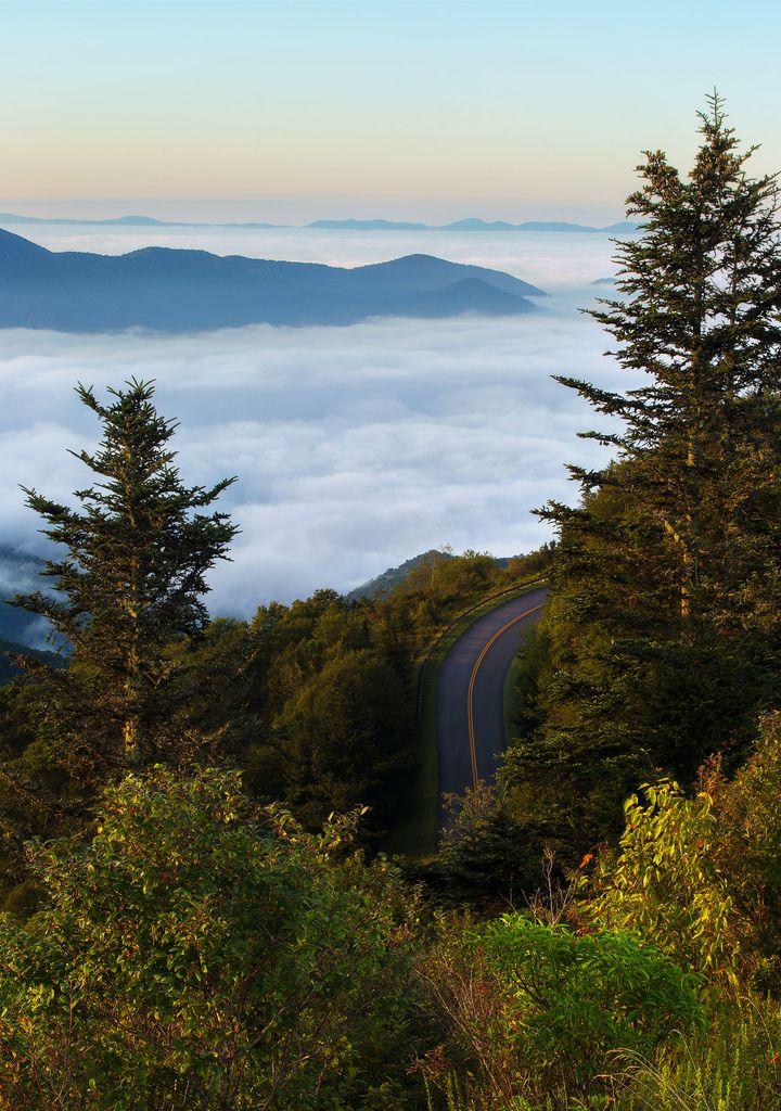 ~~Waterrock Knob - Blue Ridge Parkway, Western North Carolina   by Phil Varney~~