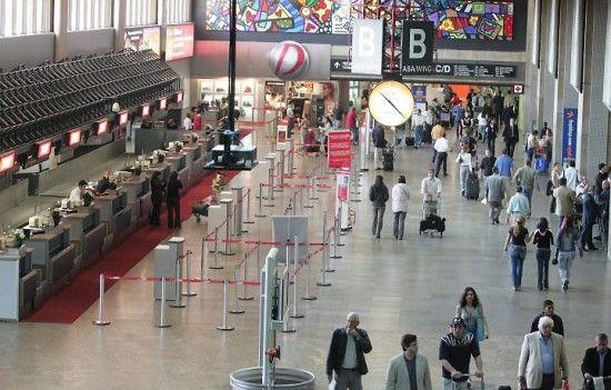 Aeroporto Internacional de São Paulo Guarulhos 3 550x351 Aeroporto Internacional de São Paulo Guarulhos   Cumbica
