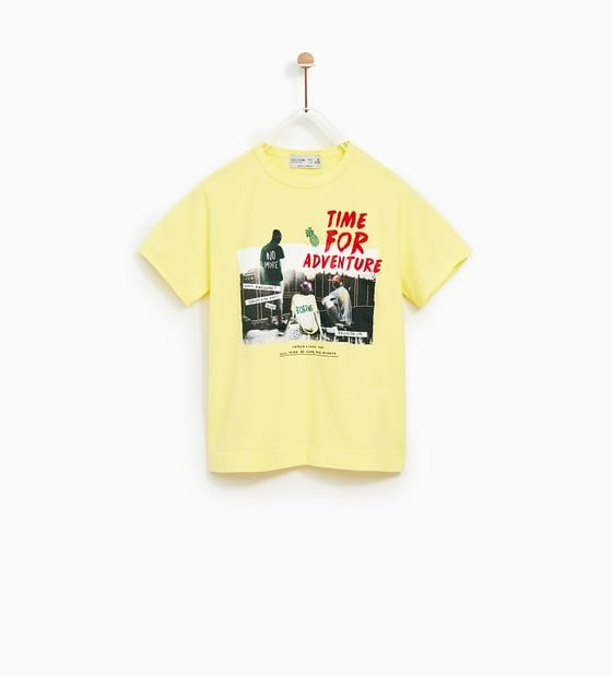 3eddbb25b3c CAMISETA TEXTO | ss18 boys | Zara kids, T shirt και Shirts