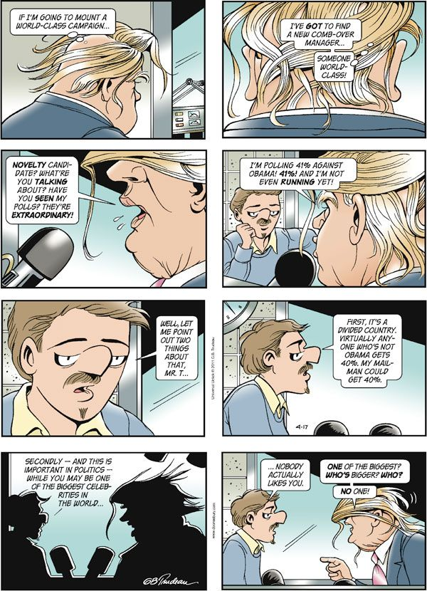comic strip by garry trudeau your waterway