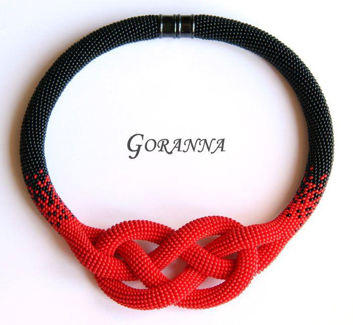 Мастер-класс по вязанию жгута с узлом Жозефины