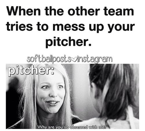 Me bc I'm a pitcher I pitch better when they do that! It gets my blood boiling for a good game!