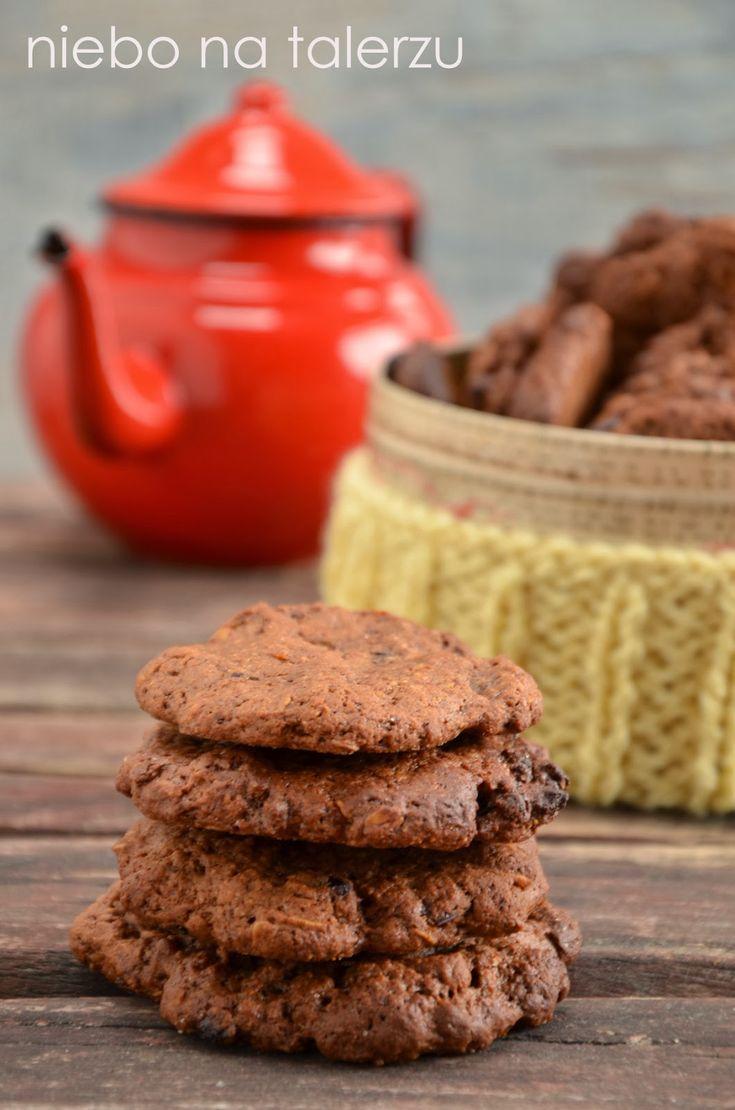 niebo na talerzu: Łatwe ciasteczka owsiane