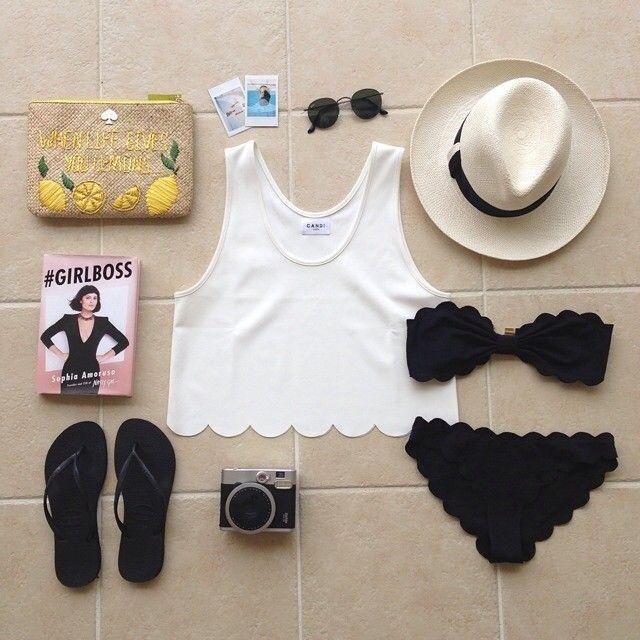 Summer styling with CANDI Capri tank  #canditokyo #CANDIsummer