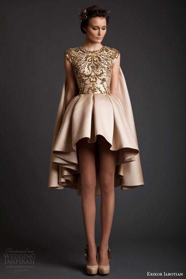 Krikor Jabotian Spring 2014 Dresses — Akhtamar Couture Collection | Wedding Inspirasi - Bridesmaid idea