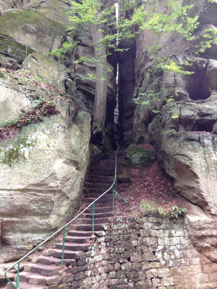 Mullerthal, luxemburg. Smal, spannend en indrukwekkend!