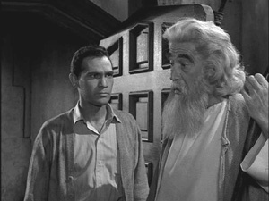 "The Twilight Zone: The Howling Man.   ""I didn't believe you. I didn't recognize him.""   ""That is man's weakness and the devil's strength."""