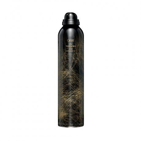 Oribe Dry Texturizing Spray / Part dry shampoo, part texturizer, its unique formula soaks up oils in grimy hair, and gives your flattened, blown-out coif an instant dose of altitude.