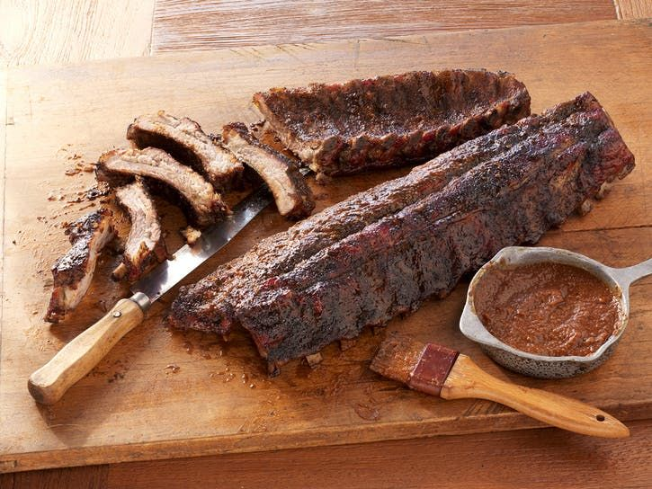 Coffee Rubbed Ribs With Coffee Barbecue Sauce Recipe
