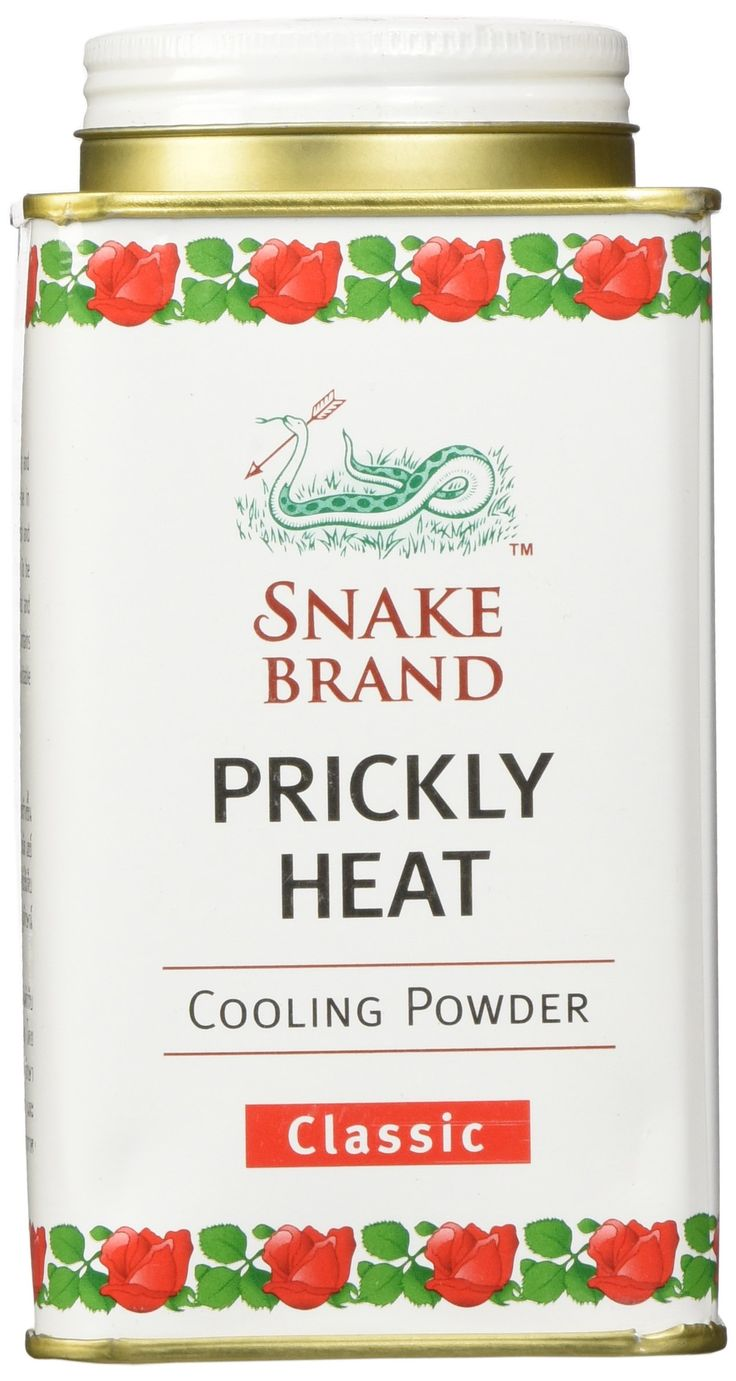 Prickly Heat Powder Snake Brand Classic Scent (150 gram) - Prickly heat, cool powder, heat rash, heat rash treatment