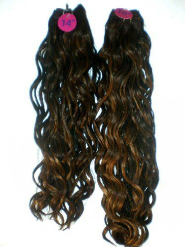 """100% Human Hair & Premium Blend - 2 Lengths 1 Pack 14""""+16""""- Spanish Wavy - Weaving Hair - # F4/30 Dark Brown Auburn Blend by enchantress. $30.00. Multi Lengths 14"""" & 16"""" Enough For A Full Weave. Spanish Wavy. 100% Human Hair. 4 Pieces Of Hair! Save $$$. 80% More Hair To Complete Your Look!. Beautiful Spanish Wave Weaving 2 PIECES 14"""" and 2 PIECES 16""""  SAVE MONEY USING 1 PACK FOR A FULL WEAVE  80% MORE HAIR IN THIS PACK!   *This is a very special value!!! YOU GET 80% MORE H..."""