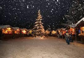 st. cristina christmas market in Northern Italy Val Gardena