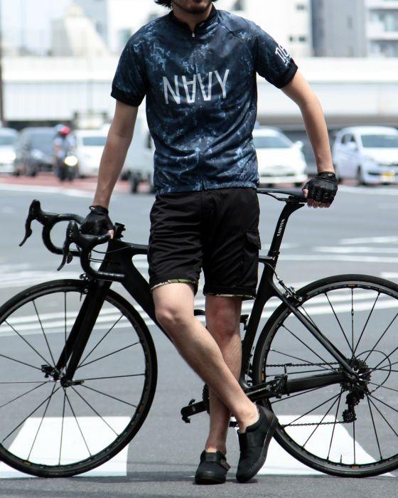 サイクルジャージレギュラーフィット/ナード narifuri(ナリフリ) TOKYOlife(東京ライフ)