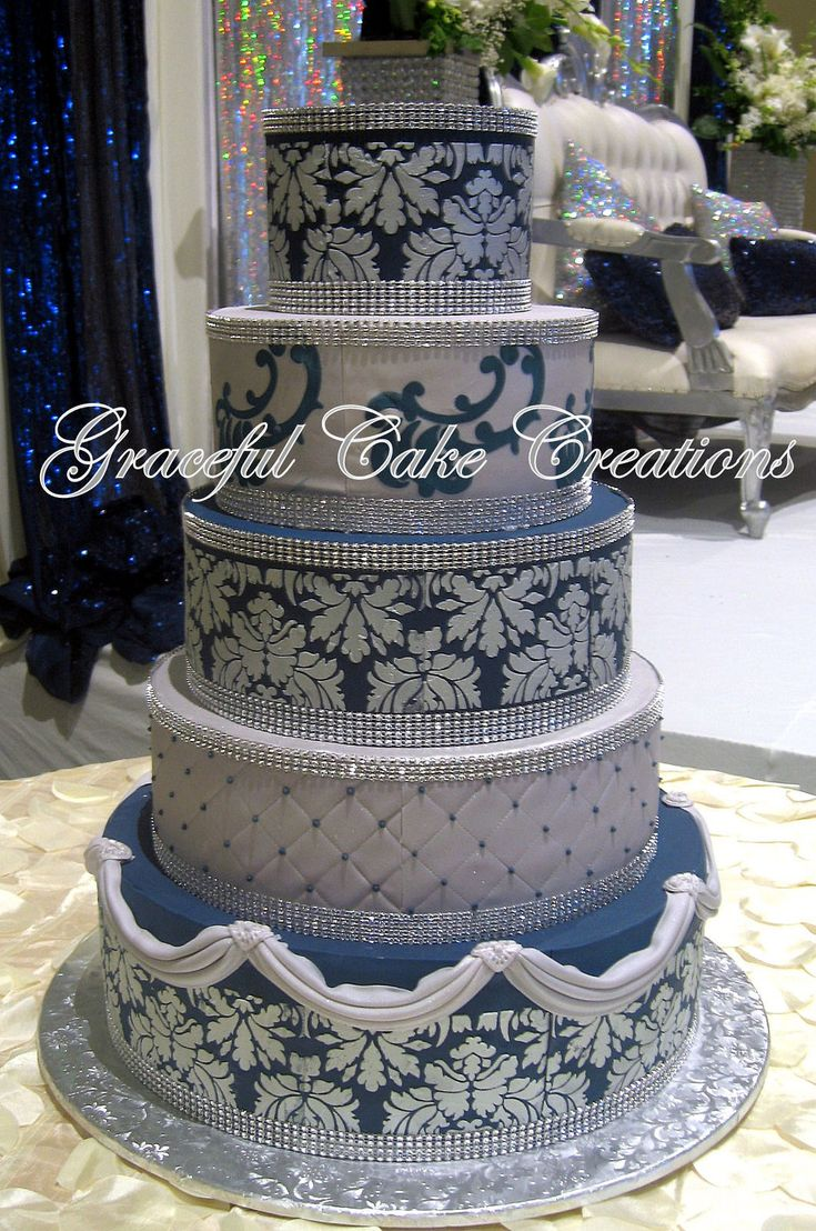 navy blue wedding cakes 499 best images about wedding cakes by graceful cake 17778