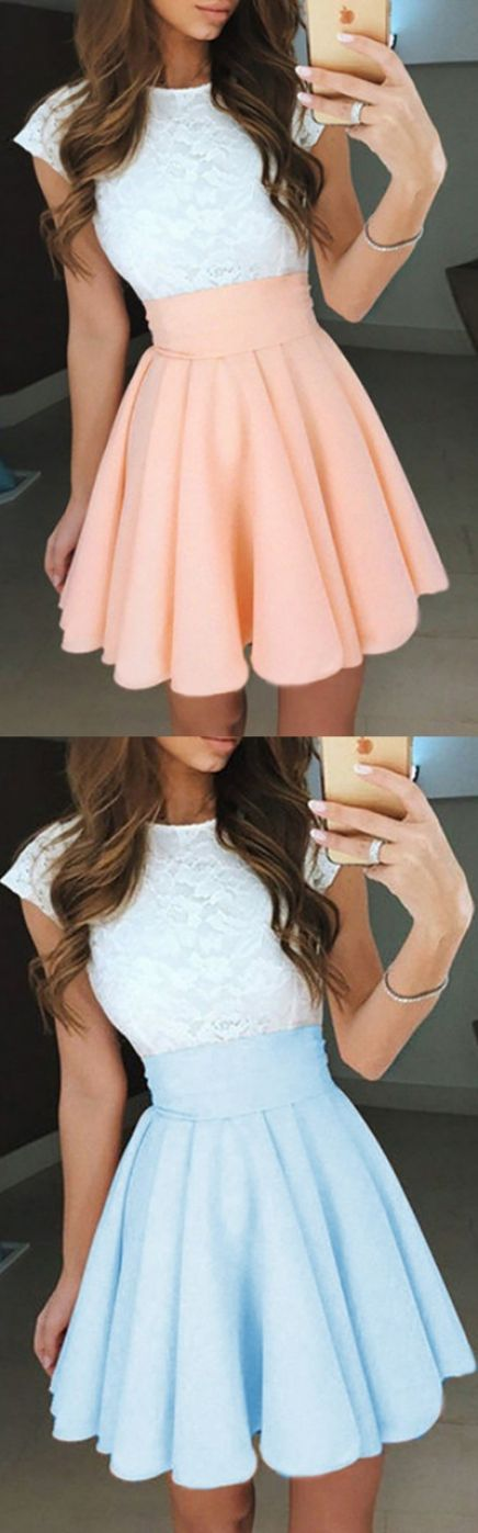 Bateau Prom Dresses, Pearl Pink Prom Dresses, Pearl Pink Bateau Homecoming Dresses, Bateau Prom Dresses, Pearl Pink Bateau Prom Dresses, A-Line Jewel Cap Sleeves Pearl Pink Short Chiffon Homecoming/Prom Dress with White Lace, Short Prom Dresses, White Lace dresses, White Prom Dresses, Short Homecoming Dresses, Short White Dresses, Lace Prom Dresses, Pink Prom Dresses, Prom Dresses With Sleeves, Dresses With Sleeves, Pink Lace dresses, White Homecoming Dresses, Lace dresses With Sleeves...