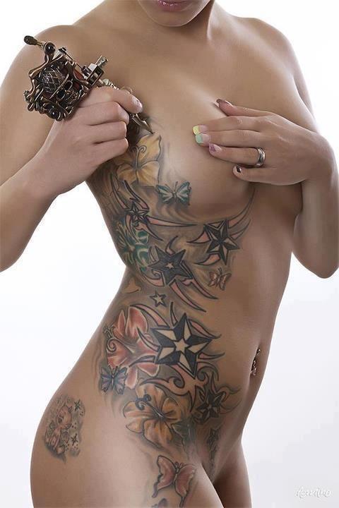 65 best images about tatuagens criativas creative for Tattoo bodysuit female