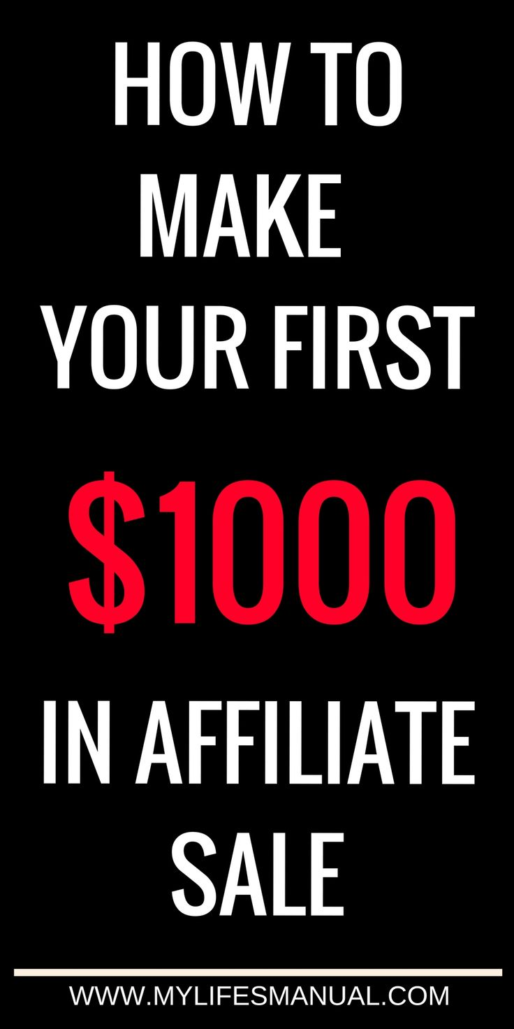 Affiliate marketing for beginners. If you want to start making money blogging, but you're tired of trying to figure it all out on your own and you're ready to conquer Affiliate Marketing (once and for all), you're in the right place! Ready to make your first $1000 in affiliate sales? Read more! #Affiliate link #AffiliateMarketing #makemoneyonline