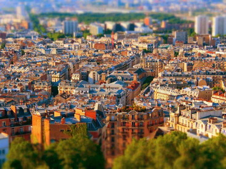 Tilt Shift Paris Series - Paroisse Notre Dame de Clignancourt by george otoiu on 500px
