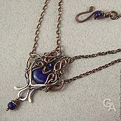 Handmade Jewelry. Fair Masters - handmade necklace with lapis lazuli. Handmade.