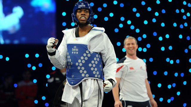 British Olympic bronze medallist Lutalo Muhammad won a dramatic -80kg final at the inaugural World Taekwondo Grand Prix in Manchester.
