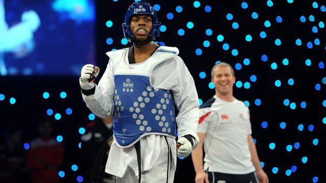 British Olympic bronze medallist Lutalo Muhammad won a dramatic -80kg final at the inaugural World Taekwondo Grand Prix in Manchester.