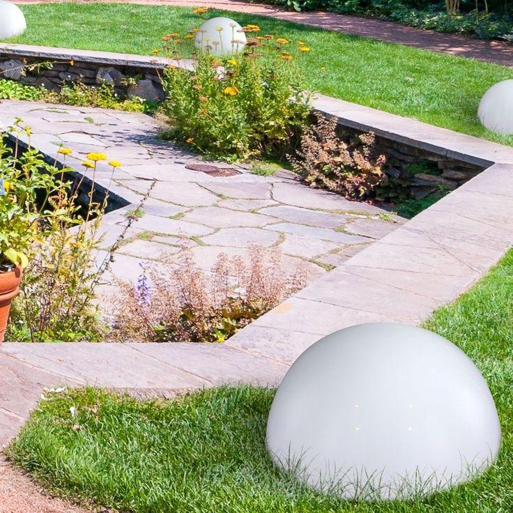 Best er Boden Wand LED Solar Set Lampe Hof Weg Au en Outdoor Leuchte Licht Garten in