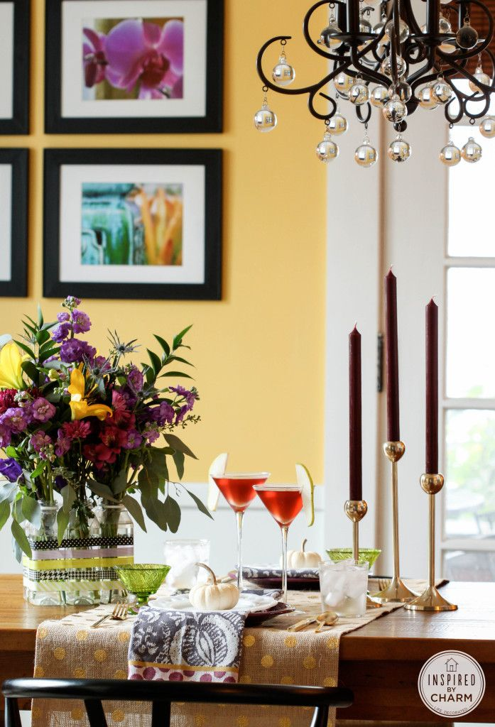 Inspired by Charm created three delicious cocktail recipes as a Guest Post on our blog! Read it here.