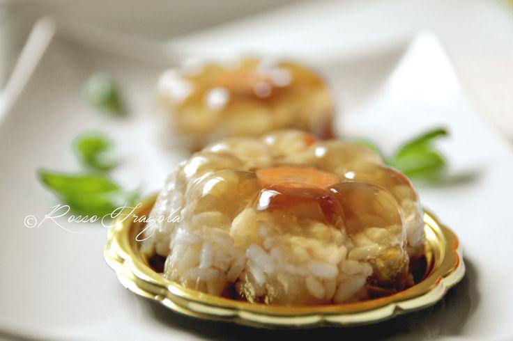 Mini Aspic di riso with our Mini Golden Age #Poloplast
