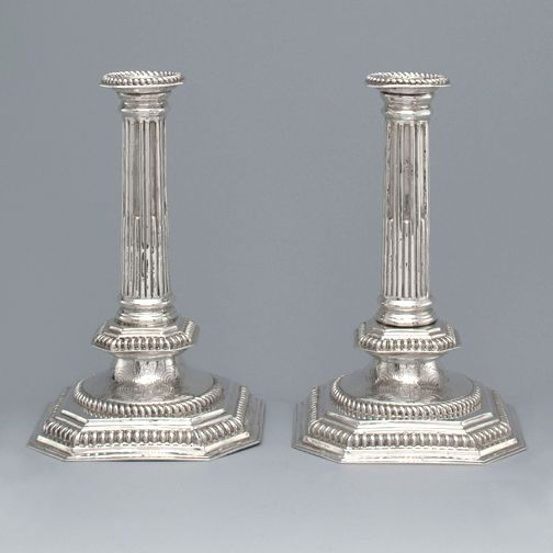 A Pair of William \u0026 Mary Antique English Silver Candlesticks London 1695 by RS & 87 best Vintage Candelabrum Candlesticks Silver Plated images on ...