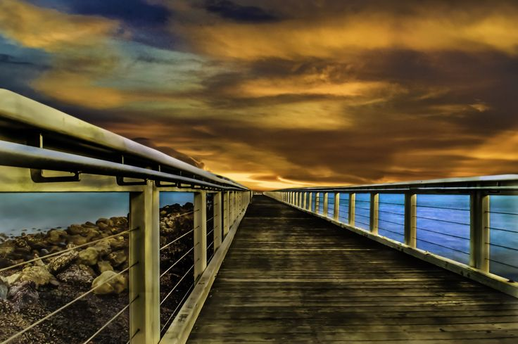 The Pier by Simon Tidd on 500px