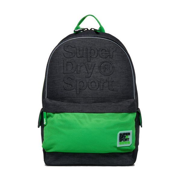 Superdry Sport Embossed Montana Backpack (145 BRL) ❤ liked on Polyvore featuring bags, backpacks, dark grey, sports backpacks, superdry backpack, mesh sport bag, sport backpack and sports bag