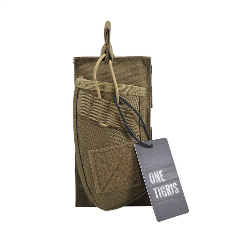 [ONETIGRIS] Single Open Top Mag Molle Pouch With Bungee System