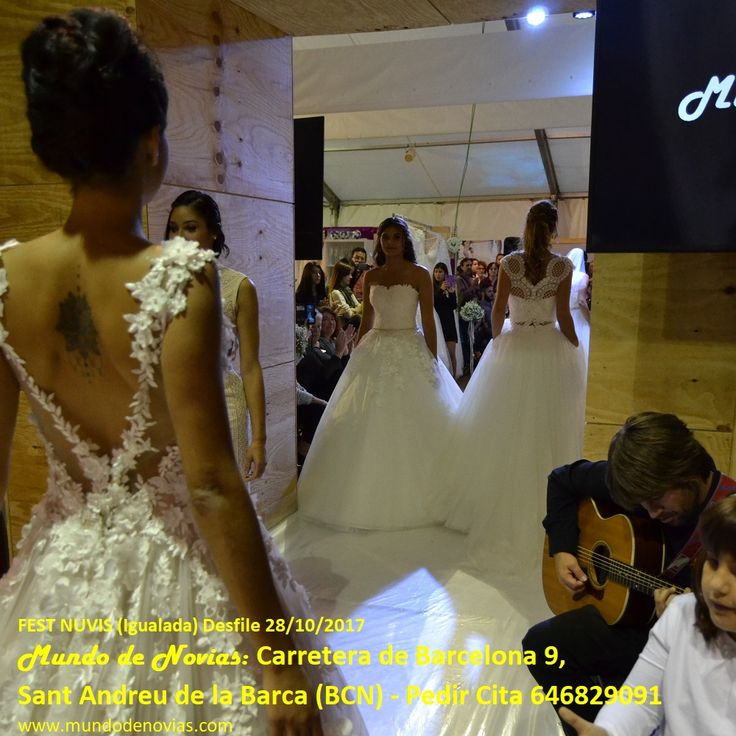 """Carrusel final del desfile de Atelier """"Mundo de Novias"""" en el desfile de NUVIS FEST de Igualada del 28/10/2017. Agradecemos a todas las modelos de por haber desfilado con nuestras marcas."""