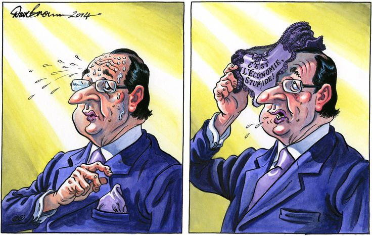 15 January 2014 - Francois Hollande, sex scandals and the economy via @The Independent newspaper