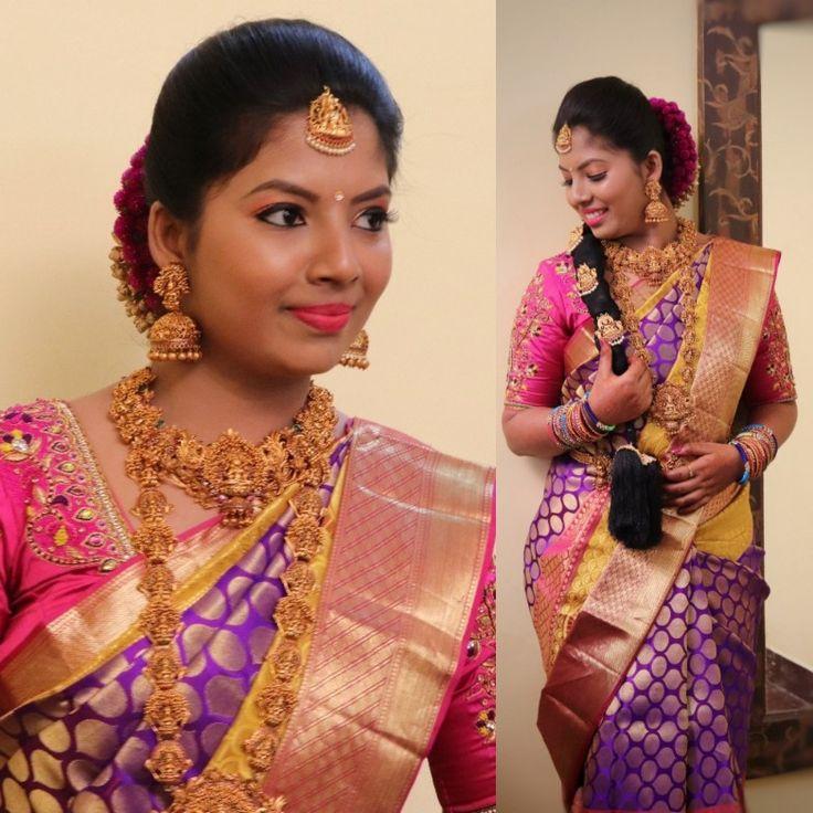 Wedding Hairstyle Tamilnadu: MUA Karthik Professional Makeup Artist #Karthik