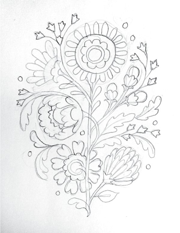 Floral Exploration by Jill De Haan, via Behance