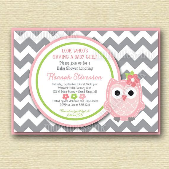 1351 best baby shower owls images on pinterest barn owls owl gray chevron owl baby shower invitation baby girl owl invite owl invitation owl baby shower invitation owl baby shower invite pink owl solutioingenieria Choice Image