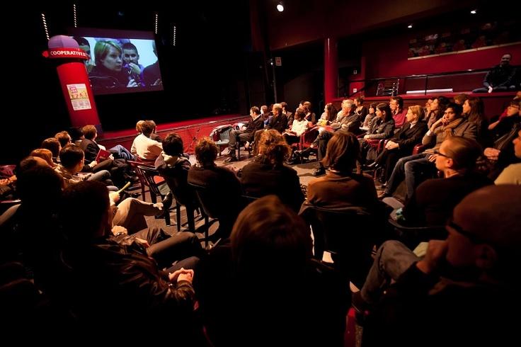 """Décembre : La 100e rencontre-action """"Ensemble Pour La Réussite des Jeunes""""se déroule à la Coopérative de mai !"""
