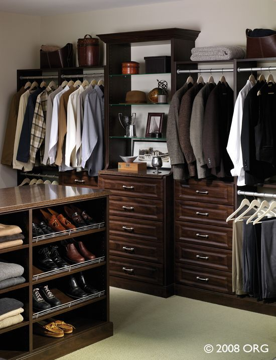 Amazing This Is A BIG BOYS Closet. Menu0027s Fashion Should Include The Closet  Organization Too