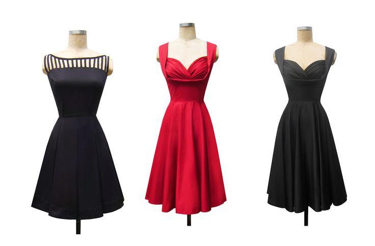 Vestidos de los a os cincuenta buscar con google pear - Los anos cincuenta ...