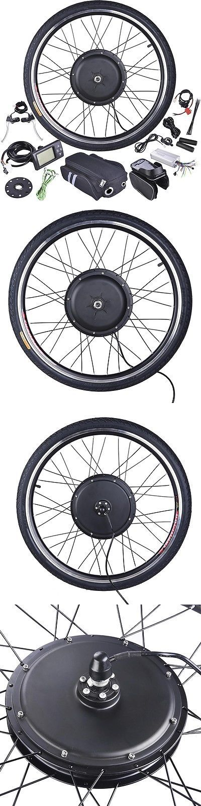 Electric Bicycles 74469: 48V1000w Ebike Front 26 Electric Bicycle Wheel W/Tire Motor Conversion Lcd Kit -> BUY IT NOW ONLY: $209.9 on eBay!