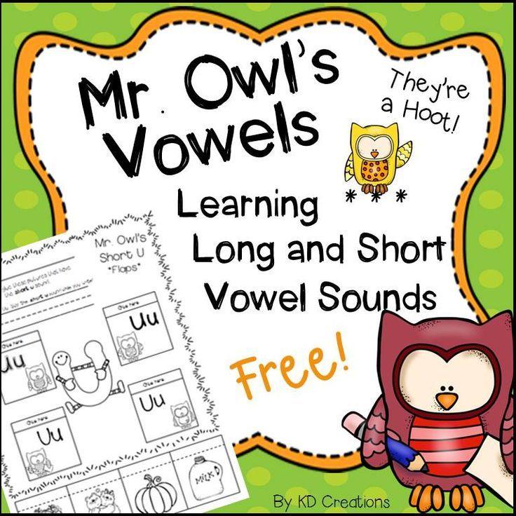 Kindergarten Vowels Activities Freebie!