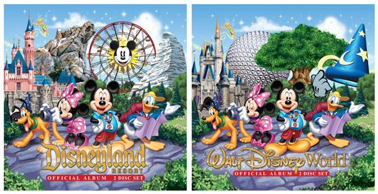 New Official Music Albums Releasing at Disney Parks on August 20, 2013 #Disney