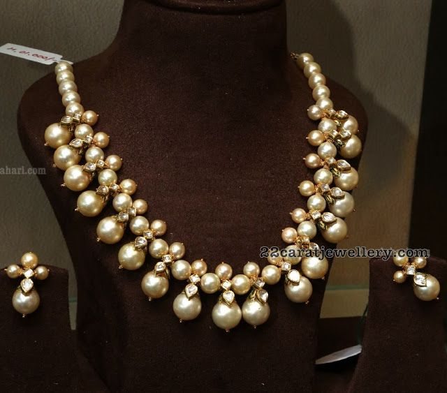 South Pearl Choker by Mujtab Jewellers