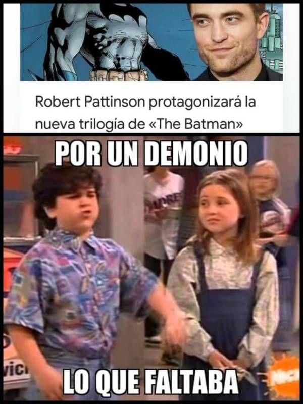 Pin De Carlita En Gracioso Memes Graciosos Memes Robert Pattinson