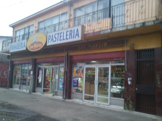 Panaderia san Martín en macul