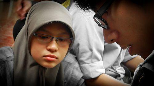 mentari and kim bur
