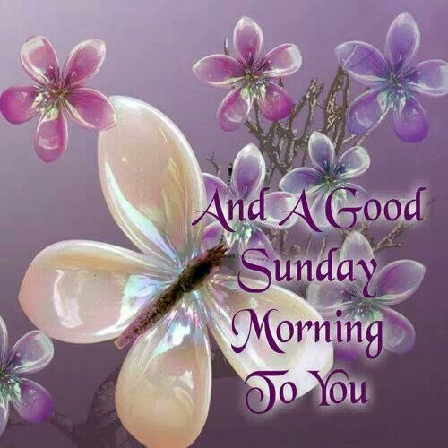 And A Good Sunday To You